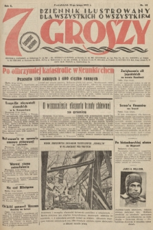 7 Groszy : dziennik ilustrowany dla wszystkich o wszystkiem. 1933, nr44