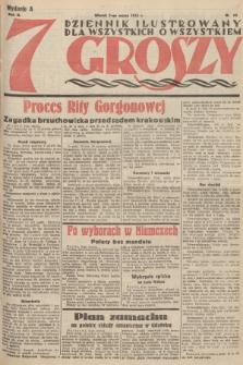 7 Groszy : dziennik ilustrowany dla wszystkich o wszystkiem. 1933, nr66 (Wydanie A)
