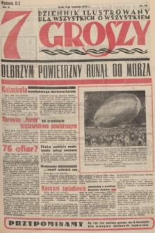 7 Groszy : dziennik ilustrowany dla wszystkich o wszystkiem. 1933, nr95 (Wydanie D E)
