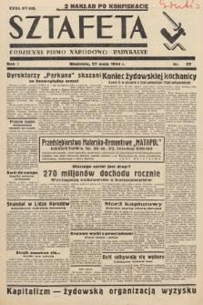 Sztafeta : codzienne pismo narodowo-radykalne. 1934, nr27