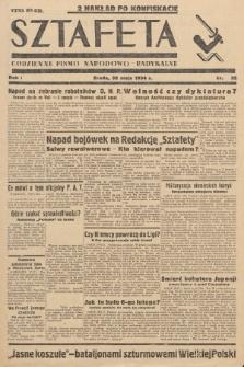 Sztafeta : codzienne pismo narodowo-radykalne. 1934, nr32