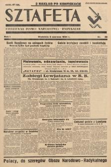 Sztafeta : codzienne pismo narodowo-radykalne. 1934, nr39