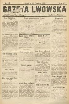 Gazeta Lwowska. 1926, nr137