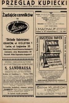 Przegląd Kupiecki : organ Związku Stowarzyszeń Kupieckich Małopolski Zachodniej. 1927, nr30-31