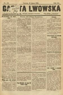 Gazeta Lwowska. 1926, nr153
