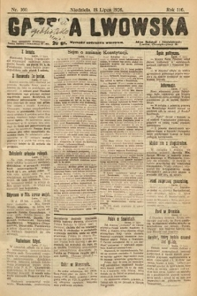 Gazeta Lwowska. 1926, nr160
