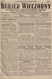 Kurjer Wieczorny : poświęcony sprawom ekonomicznym, giełdowym i politycznym. 1923, nr4