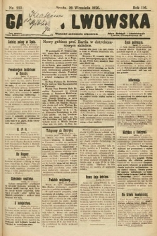 Gazeta Lwowska. 1926, nr222