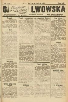 Gazeta Lwowska. 1926, nr223