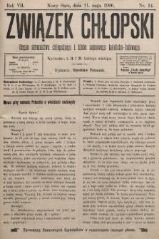Związek Chłopski : organ stronnictwa chłopskiego i klubu sejmowego katolicko-ludowego. 1900, nr14