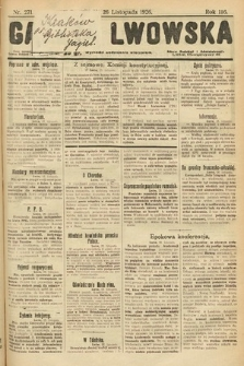 Gazeta Lwowska. 1926, nr271