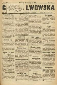 Gazeta Lwowska. 1926, nr274