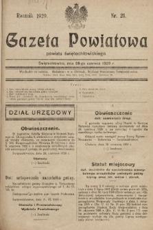Gazeta Powiatowa Powiatu Świętochłowickiego = Kreisblattdes Kreises Świętochłowice. 1929, nr26