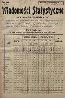 Wiadomości Statystyczne Powiatu Świętochłowickiego : dodatek do Gazety Powiatowej. 1929, nr8