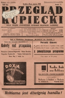Przegląd Kupiecki : organ Związku Stowarzyszeń Kupieckich Małopolski Zachodniej. 1938, nr11