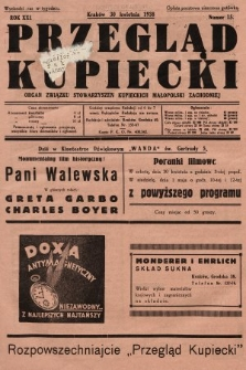 Przegląd Kupiecki : organ Związku Stowarzyszeń Kupieckich Małopolski Zachodniej. 1938, nr15
