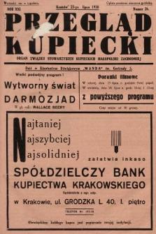 Przegląd Kupiecki : organ Związku Stowarzyszeń Kupieckich Małopolski Zachodniej. 1938, nr26