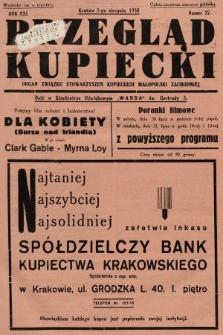 Przegląd Kupiecki : organ Związku Stowarzyszeń Kupieckich Małopolski Zachodniej. 1938, nr27