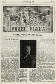 Orzeł Biały : tygodnik, wychodzi na każdą niedzielę. 1925, nr8