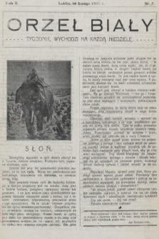 Orzeł Biały : tygodnik, wychodzi na każdą niedzielę. 1926, nr7