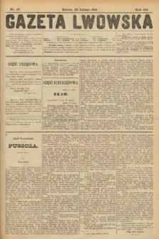 Gazeta Lwowska. 1914, nr47