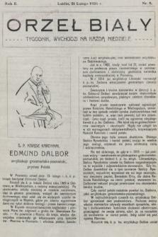 Orzeł Biały : tygodnik, wychodzi na każdą niedzielę. 1926, nr8