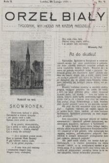Orzeł Biały : tygodnik, wychodzi na każdą niedzielę. 1926, nr9