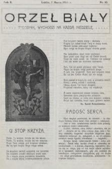 Orzeł Biały : tygodnik, wychodzi na każdą niedzielę. 1926, nr10