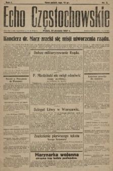 Echo Częstochowskie. 1927, nr2