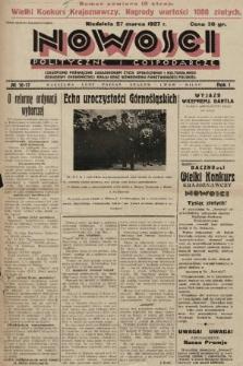Nowości Polityczne i Gospodarcze : czasopismo poświęcone zagadnieniom życia społecznego i kulturalnego, odbudowy ekonomicznej kraju oraz wzmocnienia państwowości polskiej. 1927, nr16-17