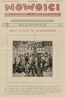 Nowości Polityczne i Gospodarcze : czasopismo poświęcone zagadnieniom życia społecznego i kulturalnego, odbudowy ekonomicznej kraju oraz wzmocnienia państwowości polskiej. 1927, nr47