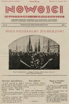 Nowości Polityczne i Gospodarcze : czasopismo poświęcone zagadnieniom życia społecznego i kulturalnego, odbudowy ekonomicznej kraju oraz wzmocnienia państwowości polskiej. 1927, nr53