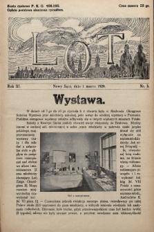 Lot : dwutygodnik młodzieży. 1929, nr3