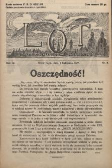 Lot : dwutygodnik młodzieży. 1929, nr8