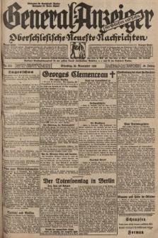 General-Anzeiger für Schlesien und Posen : oberschlesische Neuste Nachrichten. 1929, nr275