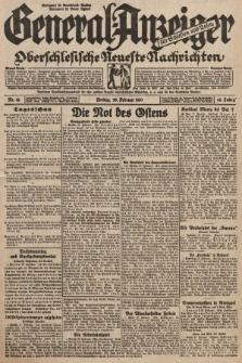 General-Anzeiger für Schlesien und Posen : oberschlesische Neuste Nachrichten. 1930, nr49