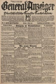 General-Anzeiger für Schlesien und Posen : oberschlesische Neuste Nachrichten. 1930, nr55