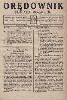 Orędownik Powiatu Morskiego. 1928, nr51