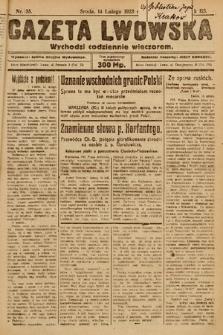 Gazeta Lwowska. 1923, nr35