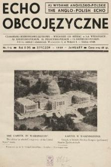 Echo Obcojęzyczne = The Anglo-Polish Echo : czasopismo rozrywkowo-językowe. 1939, nr1 A