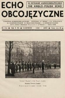 Echo Obcojęzyczne = The Anglo-Polish Echo : czasopismo rozrywkowo-językowe. 1939, nr6 A