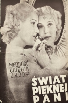 Świat Pięknej Pani : zdrowie, higiena, kosmetyka, moda, dom, literatura, sztuka, rozrywki. 1937, nr2