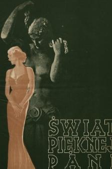 Świat Pięknej Pani : zdrowie, higiena, kosmetyka, moda, dom, literatura, sztuka, rozrywki. 1937, nr5/6