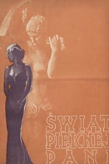 Świat Pięknej Pani : zdrowie, higiena, kosmetyka, moda, dom, literatura, sztuka, rozrywki. 1938, nr2