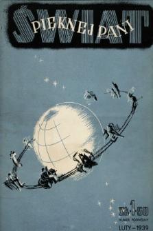 Świat Pięknej Pani : zdrowie, higiena, kosmetyka, moda, dom, literatura, sztuka, rozrywki. 1939, nr1/2