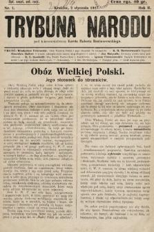 Trybuna Narodu. 1927, nr1