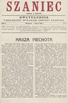 Szaniec : dwutygodnik poświęcony sprawom obrony Państwa. 1928, nr5