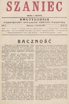 Szaniec : dwutygodnik poświęcony sprawom obrony Państwa. 1928, nr16-17