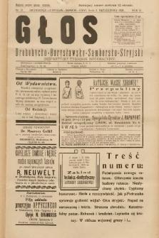 Głos Drohobycko-Borysławsko-Samborsko-Stryjski : bezpłatny tygodnik informacyjny. 1929, nr27