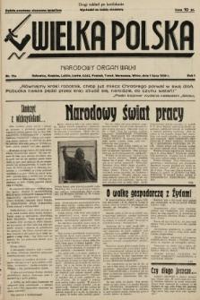 Wielka Polska : narodowy organ walki. 1934, nr019a